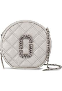 Marc Jacobs Christy Quilted Shoulder Bag - Prateado