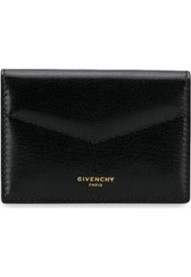Givenchy Carteira Com Fecho De Encaixe - Preto
