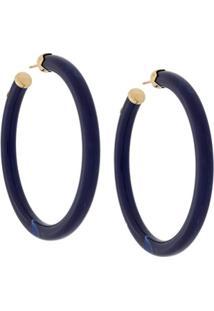 Gas Bijoux Par De Brincos 'Caftan' - Azul