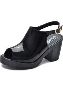 Sandália World Boot Queen Preta