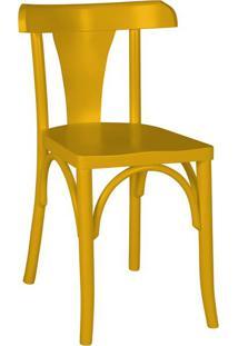 Cadeira De Jantar Felice Amarela