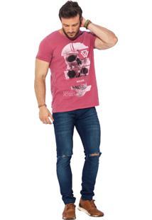 Camiseta Wolke Gola Careca Lavada To Live