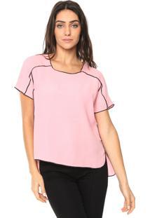 Camiseta Forum Bicolor Rosa