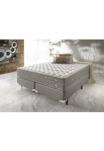 Cama Box Queen Ecoflex High Density Molejo Superlastic 158X198X30Cm