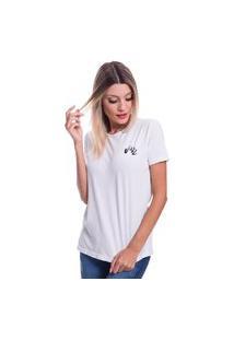 Camiseta Jazz Brasil Basica Branca