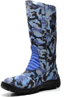 30d2418a7 ... Bota Coturno Militar Panther Exercito Camuflado Azul