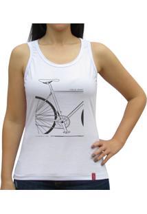 Regata Casual Sport Quadro Bike Branca