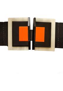 Cinto Elástico Fivela Tricolor Alphorria