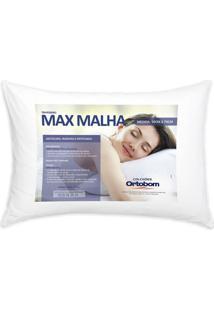 Travesseiro Max Malha Branco