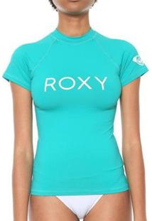 Camiseta Roxy Surf Summer - Feminino-Verde