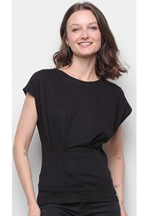 Camiseta Colcci Sleeveless Feminina - Feminino-Preto