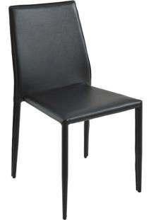 Cadeira Amanda Preta Rivatti Móveis