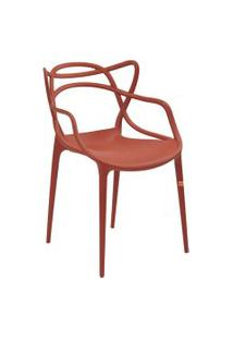 Cadeira Allegra Laranja Telha Rivatti