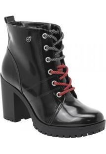 Bota Feminina Via Marte Ankle Boot (Com Brinde)