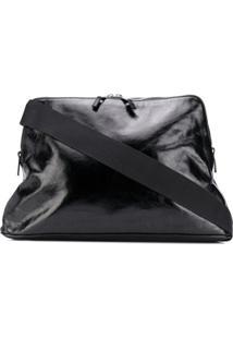 Maison Margiela Sac Folded-Edge Shoulder Bag - Preto