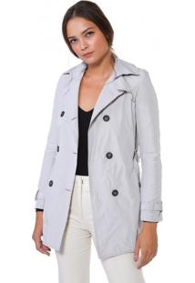 Trench Coat Xadrez Trend