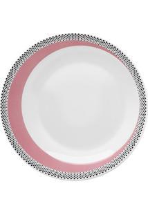 Prato Sobremesa Moon Candy Dots Porcelana 21,5 Cm Oxford
