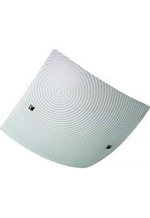 Plafon Harmony Circle Vidro 40Cm 3Xe27 60W Startec 149200005