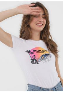 Camiseta Hurley Beachide Branca - Kanui