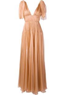 Maria Lucia Hohan Rowen Evening Dress - Laranja