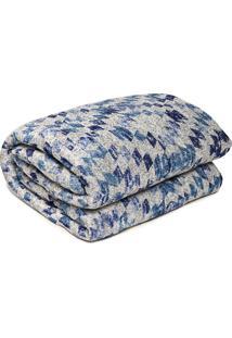 Colcha Queen Corttex Home Design Comfort Sunshine Azul