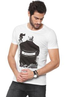 Camiseta Sergio K Mr. Hitchcock Branca