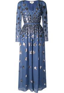 Temperley London Macacão Starlet - Azul