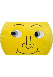 Almofada Capital Do Enxoval Emoji Lua Estampado