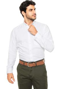 Camisa Sergio K Reta Oxford Branca