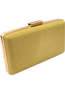Bolsa Mozzi Clutch Dourado