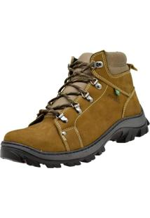 Bota Coturno Atron Shoes Adventure Caramelo