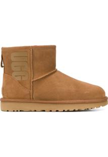 Ugg Ankle Boot Clássico - Marrom
