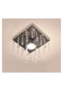 Lustre Plafon De Acrílico Sencilla Para Salas E Quartos Para 1 Lâmpada Dicroica Gu10 - Sencilla-17