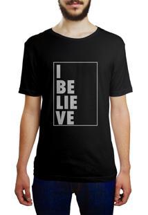 Camiseta Hunter I Believe Preta