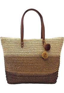 Bolsa Its! Summer Shopper Palha
