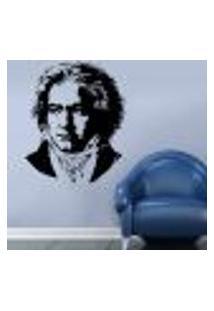 Adesivo De Parede Beethoven - P 62X48Cm