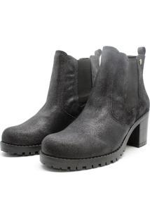 Bota Barth Shoes Bury Resina - Preto - Preto - Feminino - Dafiti