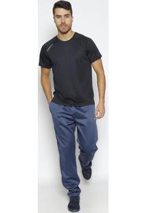 Camiseta Raglan Basic- Pretaspeedo
