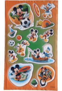 Adesivo Mickey Esportes Alto Relevo Festaria