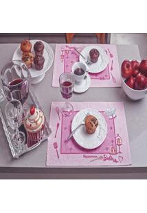 Jogo Americano Barbie Chef 4 Peças - Lepper