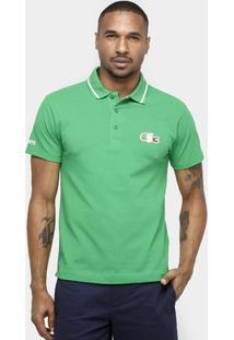 Camisa Polo Lacoste Piquet Olimpíadas - Masculino