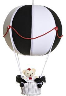 Lustre Balão Bolinha Marinheiro Potinho De Mel Marinho