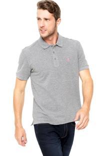 Camisa Polo Sergio K Regular Cinza