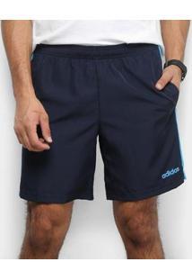 Bermuda Adidas Sp3 Listra Masculina - Masculino-Marinho