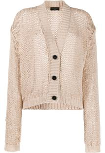 Roberto Collina Oversized Fit Cardigan - Neutro