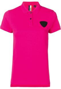 Rossignol Camisa Polo Com Patch - Rosa