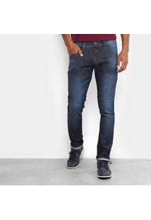 Calça Jeans Biotipo Slim Fit Soft Masculina - Masculino-Jeans