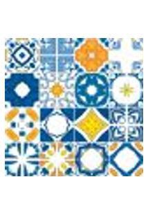 Adesivo De Azulejo - Ladrilho Hidráulico - 372Azge