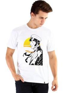 Camiseta Ouroboros Manga Curta Colto Maltese - Masculino-Branco