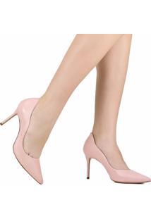 Sapato Scarpin Schutz Salto Fino Rosa
